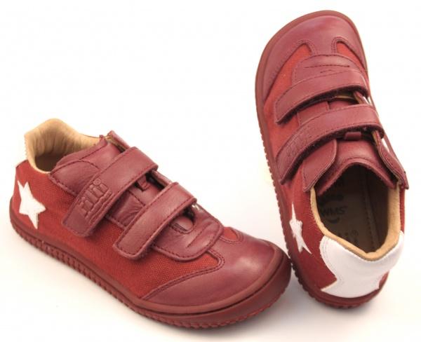 Filii barefoot - Leguan Nappa Textile Berry M bd819fc82e