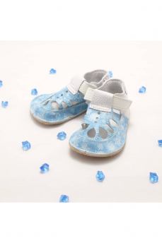 Baby Bare Shoes IO Snowflakes