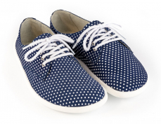 BeLenka Barefoot City Dark Blue with Dots