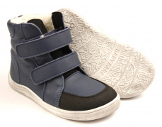 Baby Bare Shoes Febo Winter Navy Asfaltico
