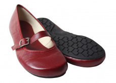 Tadeevo Red Classic Ballet Pumps