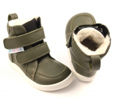 Baby Bare Shoes Febo Winter Khaki