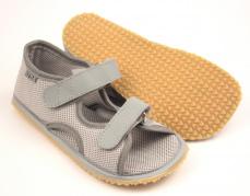 1ea1cfe433373 Beda Boty Barefoot sandálky Grey