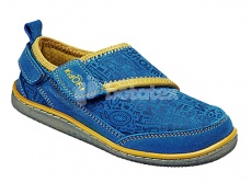 KidOFit Roger Blue Leather